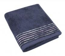 Froté ručník, fialová řada, 50x100cm (tmavě modrá)