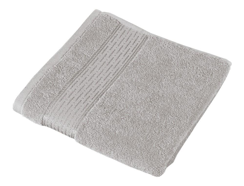 Froté ručník Kamilka, proužek, 50x100cm (šedá)
