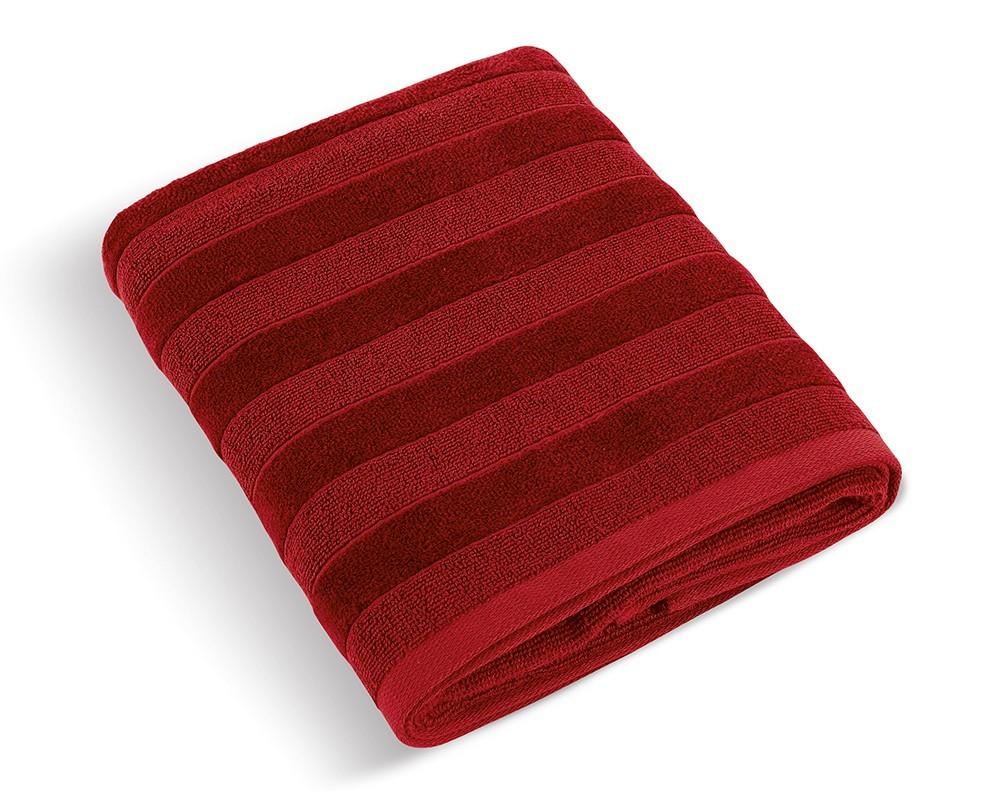 Froté ručník Luxie 570g, 74/120, 50x100cm (bordó)