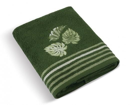 Froté ručník Monstera 500g, 32/33 (tmavě zelená)