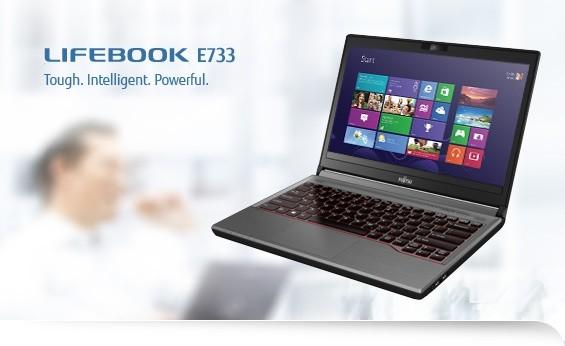 Fujitsu Lifebook E733 černá-stříbrná (LKN:E7330M0001CZ)
