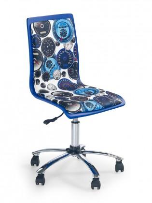 Fun 8 - dětská židle (bílo-modrá)