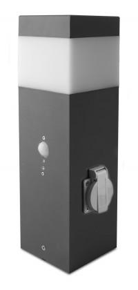 Gard - Venkovní svítidlo, 60W, 37x30x40 (hliník)