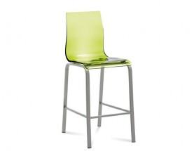 Gel-R-Sgb - Barová židle (hliník, zelená)