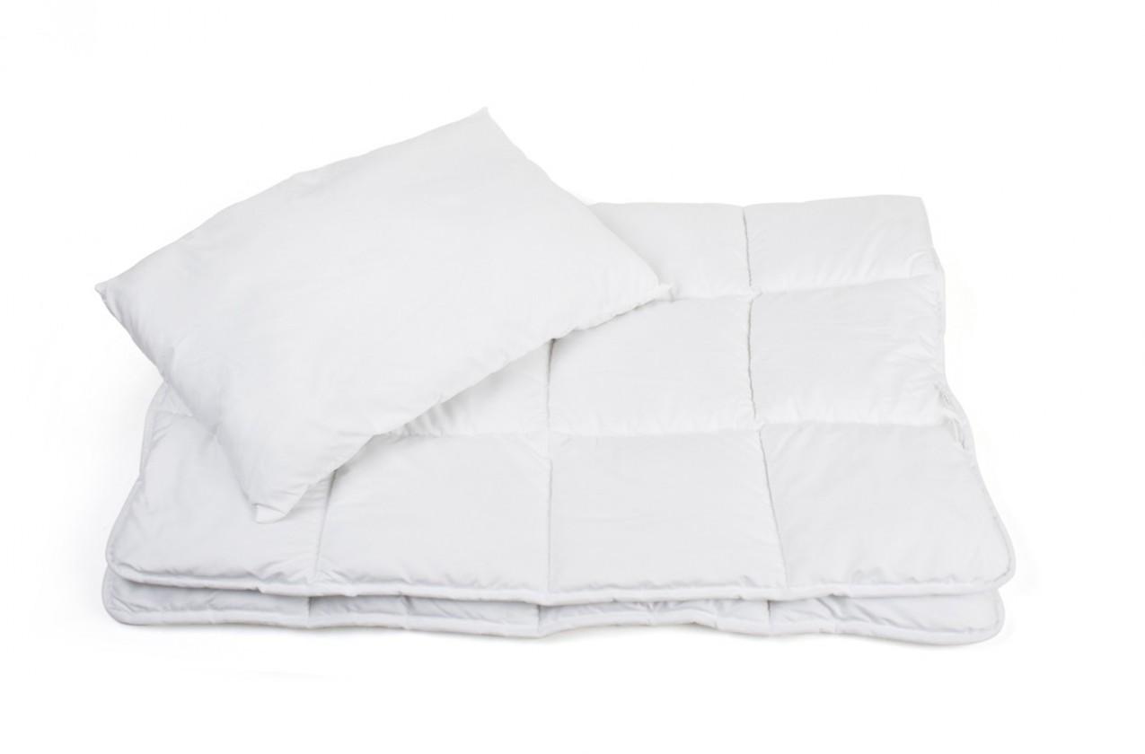 Gioco - Set, polštář + přikrývka, dětská (bílá)