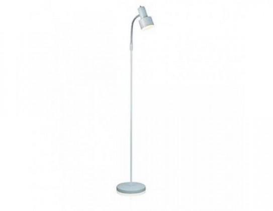Glommen - Lampa podlahová (kov/kov/bílá)