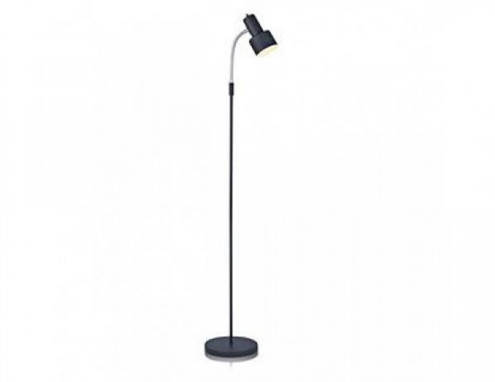 Glommen - Lampa podlahová (kov/kov/černá)