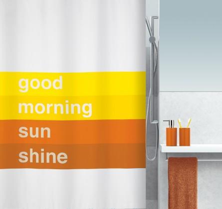 Good morning-Sprch.závěs 180x200(oranžová)