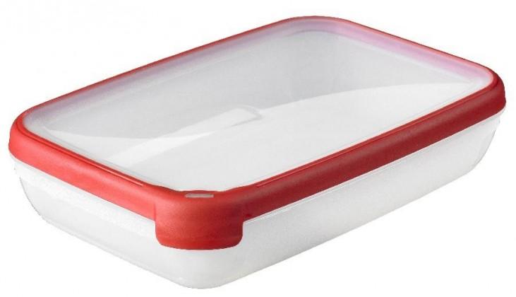 GRAND CHEF, obdélník, 2,6l (plast,červená)