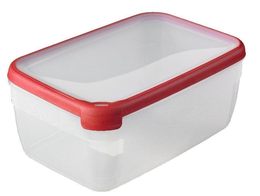 GRAND CHEF, obdélník, 5,4l (plast,červená)