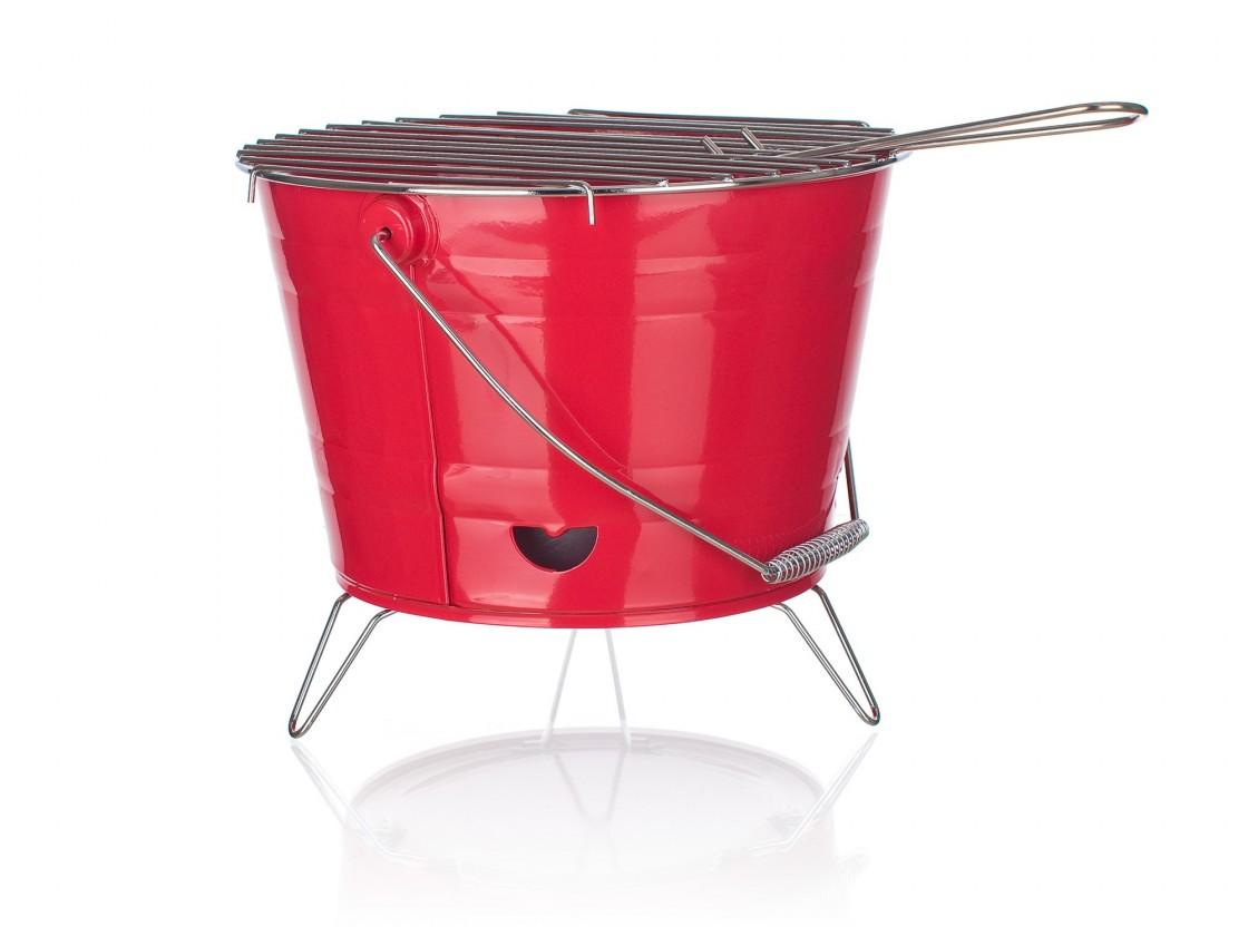 Gril, příslušenství Gril Bucket (červená)
