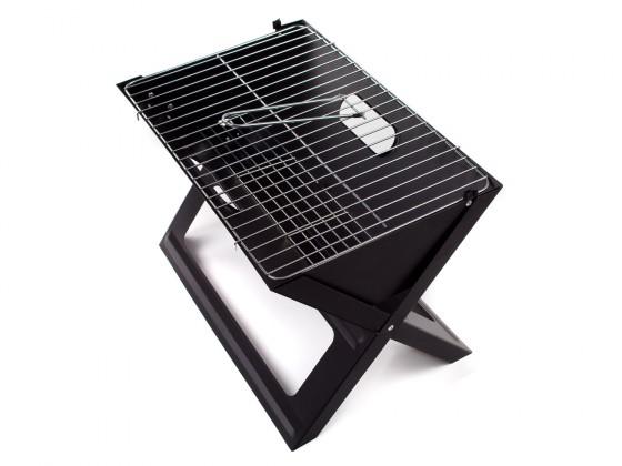 Gril, příslušenství Grill piknikový Flat (černá)