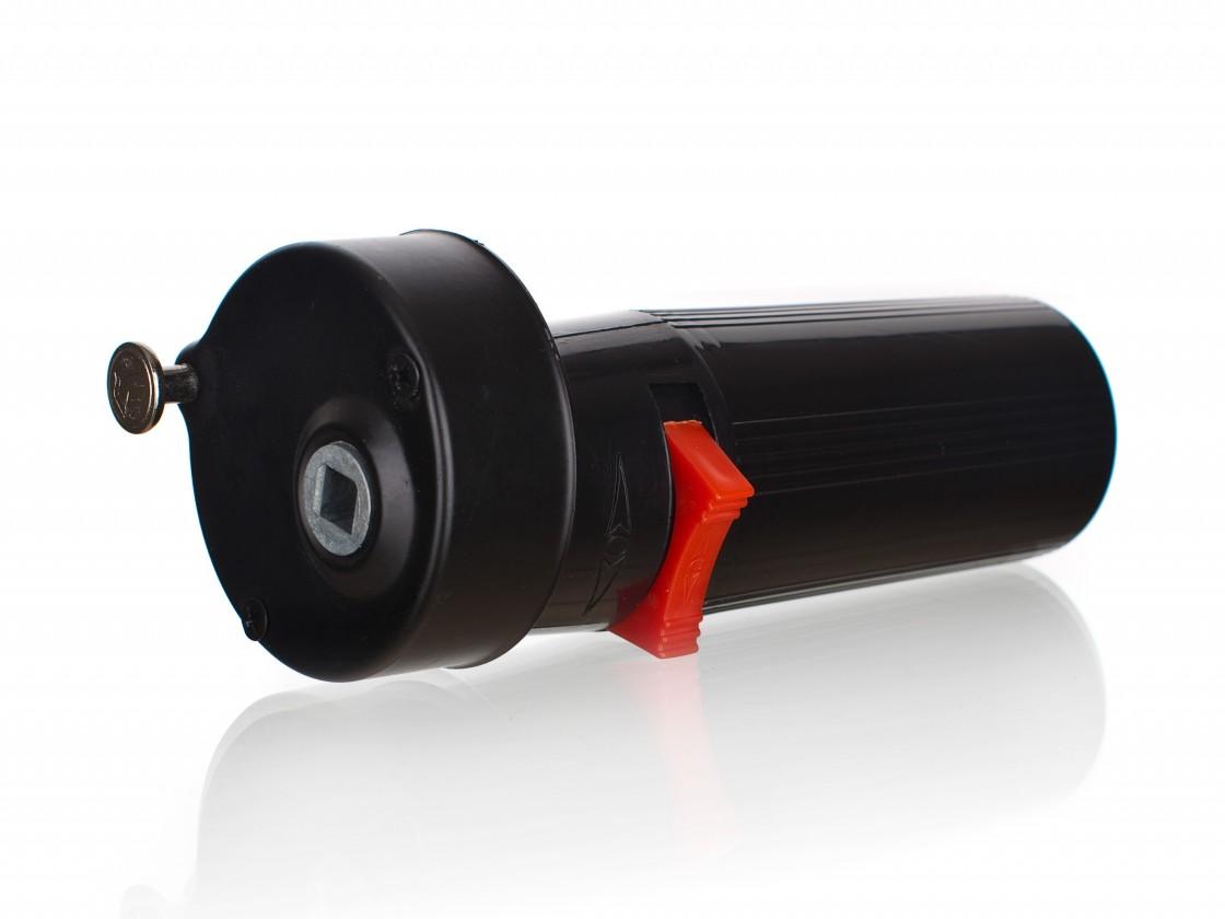 Gril, příslušenství Grilovací motorek na baterie (černý)