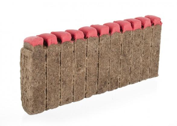 Gril, příslušenství Podpalovač dřevěný se zápalkou, 12ks (dřevo)