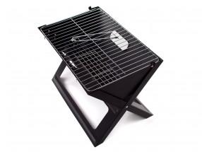 Grill piknikový Flat (černá)