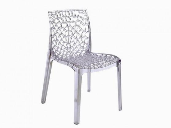 Gruvyer - Jídelní židle (čirá)