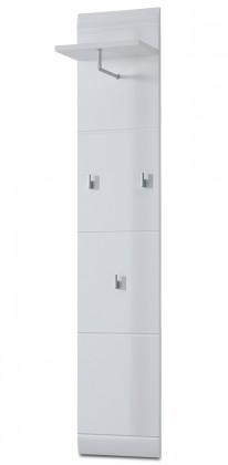 GW-Adana - Věšákový panel (bílá) 30 cm