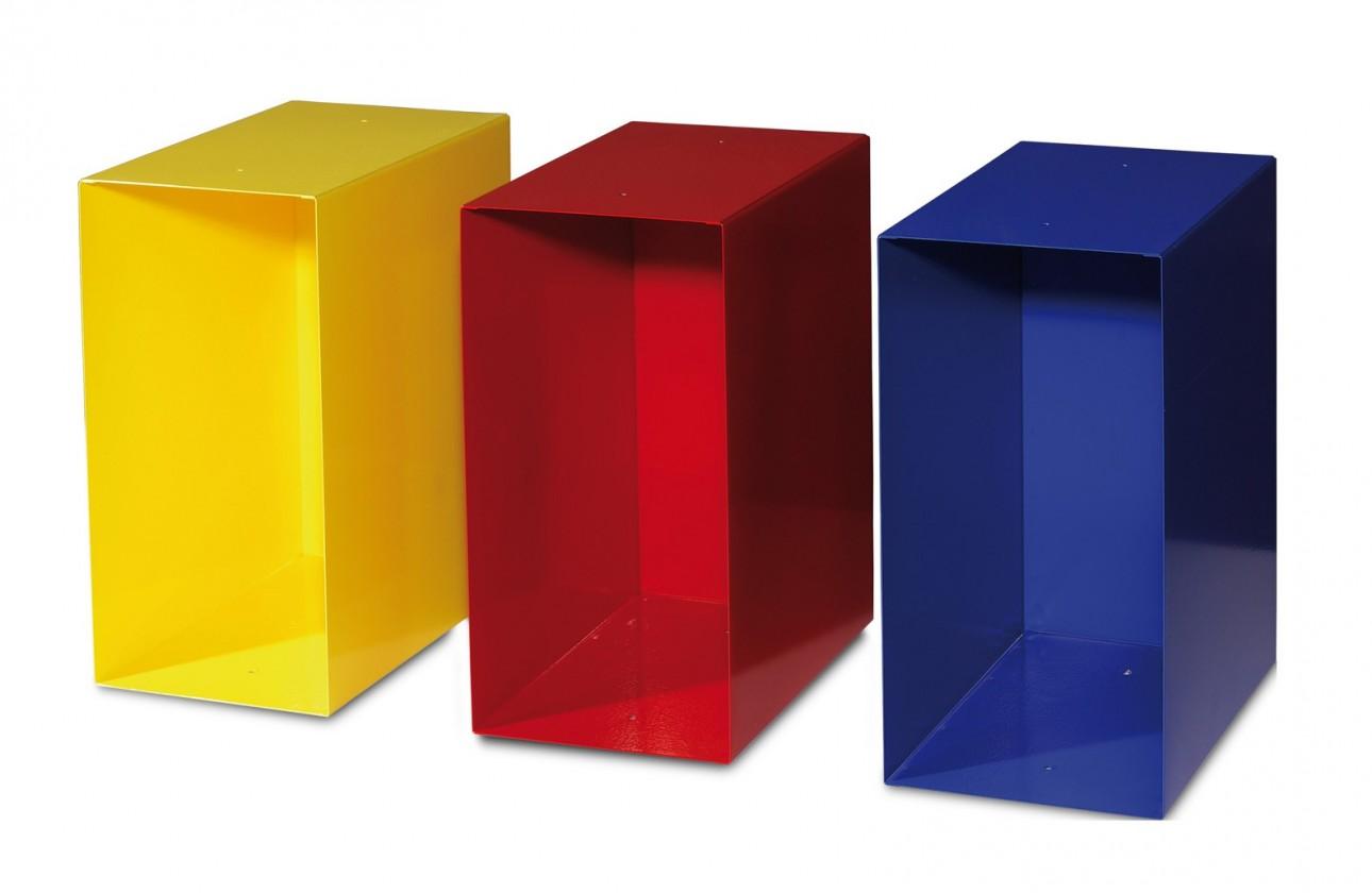 GW-Linea - přihrádka (červená / žlutá / modrá)