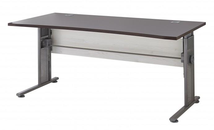 GW-Profi - Výškově stavitelný stůl 160x80x80 (modřín/dub havana)