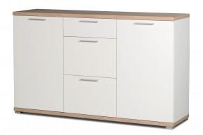 GW-Top - Skříňka, 2x dveře (bílá / dub sonoma)