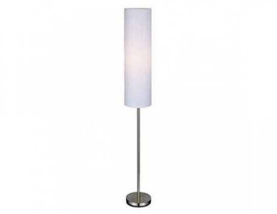 Hagby - Lampa podlahová (kov/textil/bílá)
