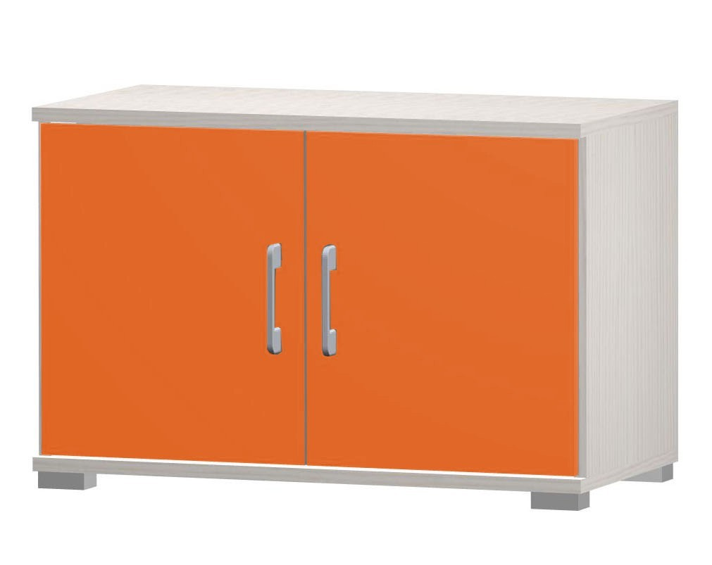 Happy - typ02 + 2xtyp 56 (woodline creme/tmavě oranžová)