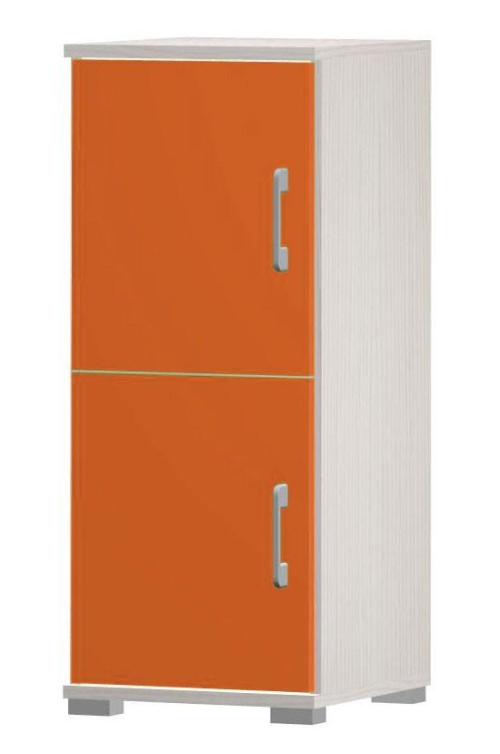 Happy - typ03 + 2x typ56 (woodline creme/tmavě oranžová)