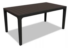 Harmony - Stůl (černá, hnědá)