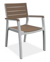 Harmony - Židle (bílá, cappuccino)