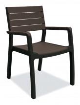 Harmony - Židle (černá, hnědá)