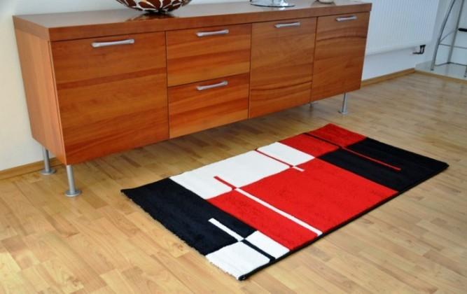 Hawaii - koberec, 150x80cm (100%PP friese, červená)