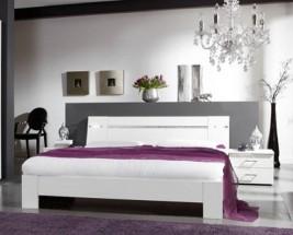 Heaven - Komplet 2, postel 180cm (alpská bílá)