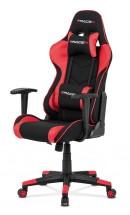 Herní židle Crash červená