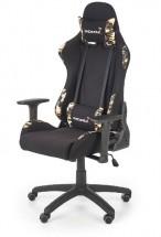 Herní židle Playkiller černá, červená