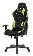 Herní židle Powergamer zelená