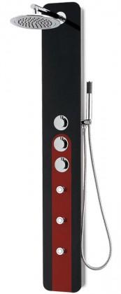 Hibiskus 251t  Sprchový hydromasážní panel (černé)