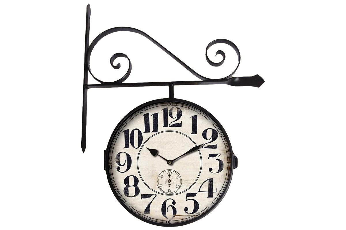 Hodiny Nástěnné hodiny oboustranné - H12, kov