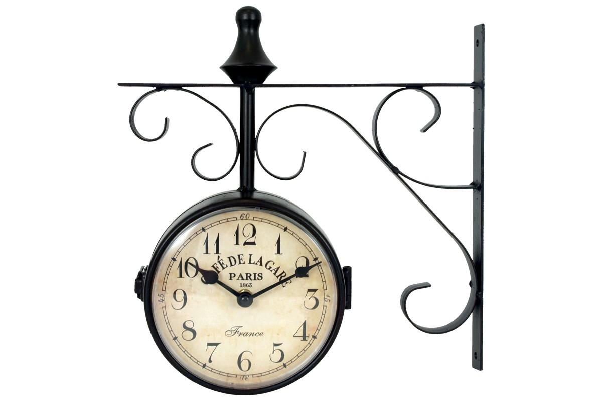 Hodiny Nástěnné hodiny oboustranné - H13, kov