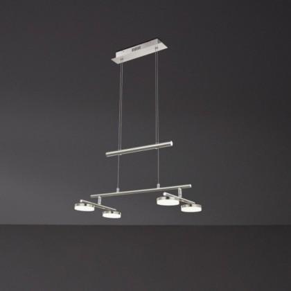 Hook - Stropní osvětlení, LED (matný nikl/chrom)