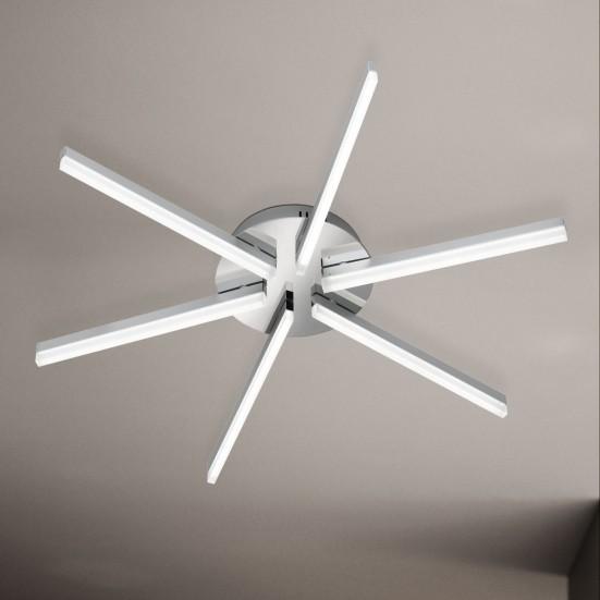 Horton - Stropní osvětlení, LED (matný nikl/chrom)