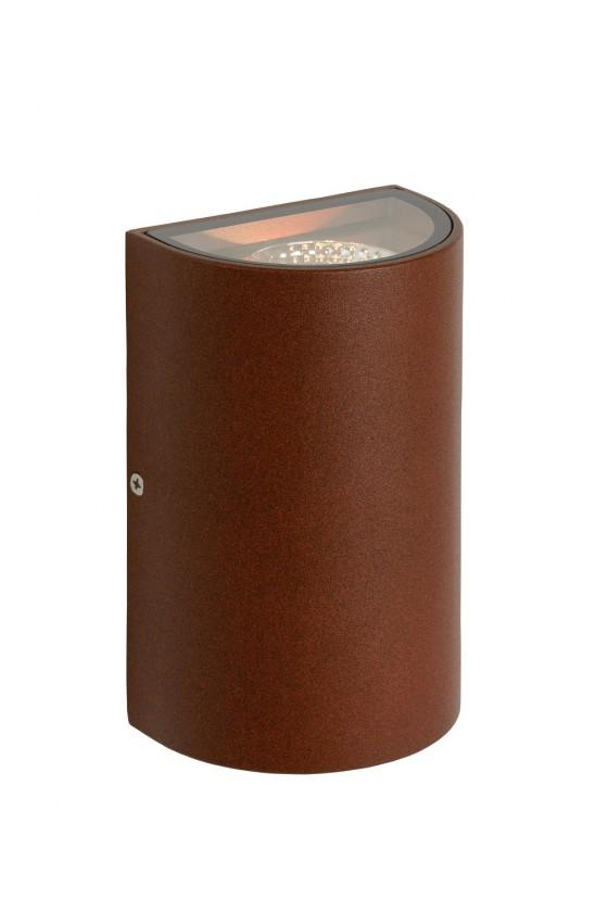 Hyro - nástěnné osvětlení, 2x5W, LED (bronzová)