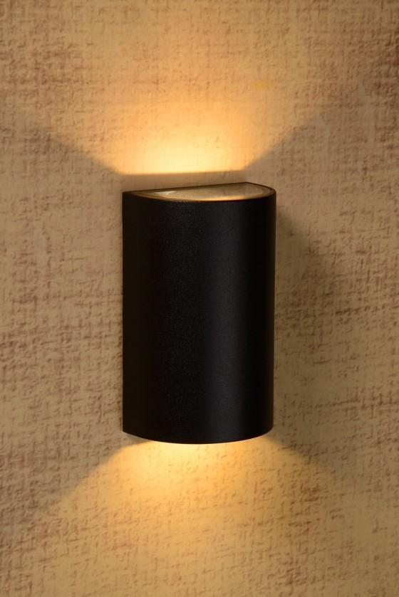 Hyro - nástěnné osvětlení, 2x5W, LED (černá)