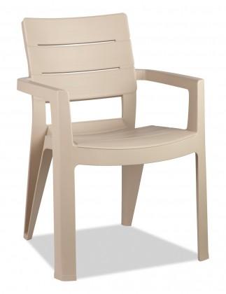 Ibiza - Židle (cappuccino)