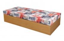 Ikma (dekor buk, korpus/GB01, lehací plocha, molitanová matrace)