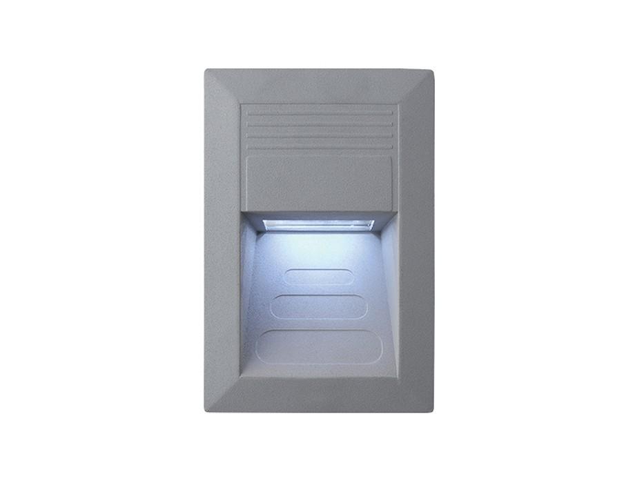 Incast - Vestavné venkovní svítidlo, LED, 1W, 30x23x52 (hliník)