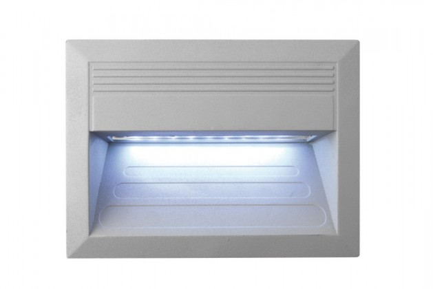 Incast - Vestavné venkovní svítidlo, LED, 1W, 31x23x46 (hliník)