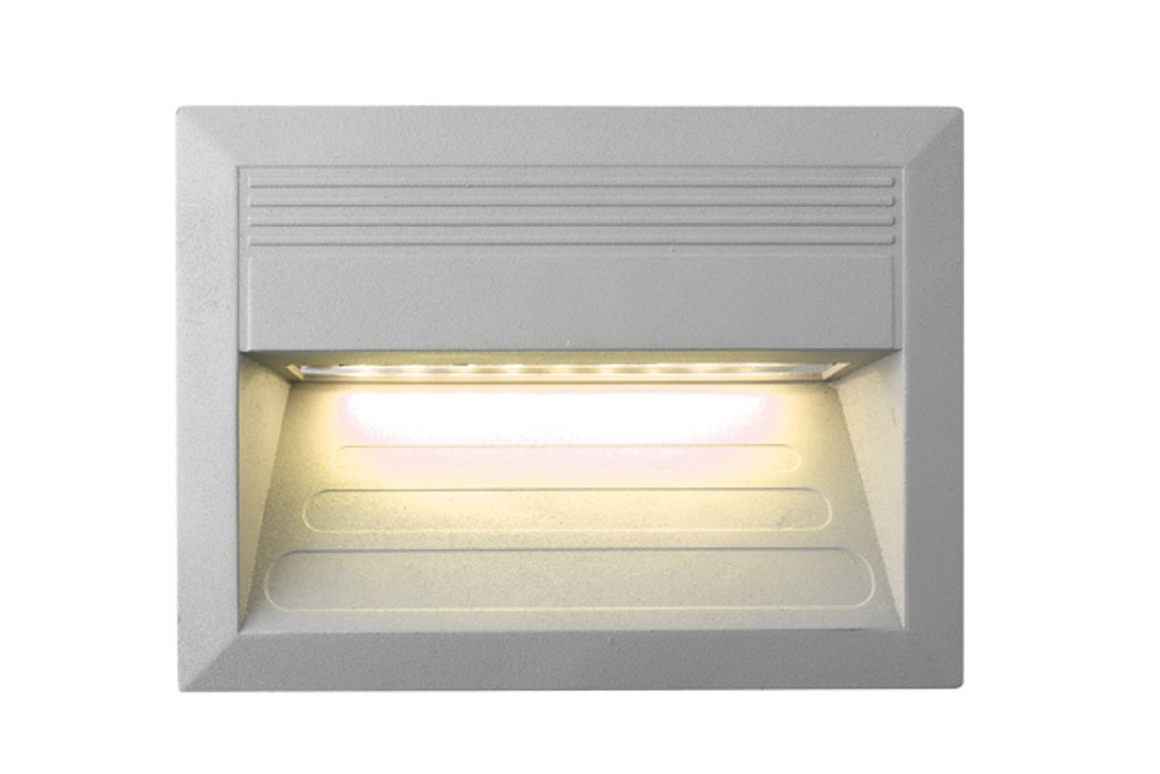 Incast - Vestavné venkovní svítidlo LED, 1W  (hliník)