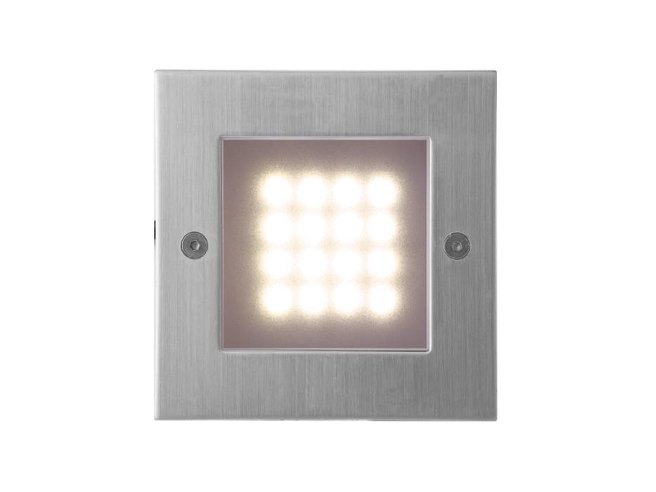 Index - Vestavné svítidlo, LED, 1W  (nerez)