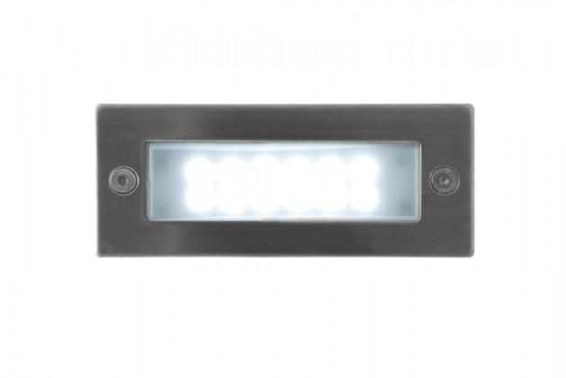 Index - Vestavné venkovní svítidlo, 1W, 25x29x40 (nerez)