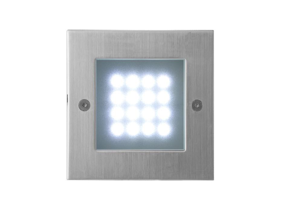 Index - Vestavné venkovní svítidlo, LED, 1W  (nerez)